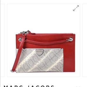 Marc Jacobs Calfskin Snakeskin Doll Bag